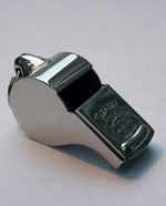 Extra Large Acme Thunderer Metal Whistle (58)